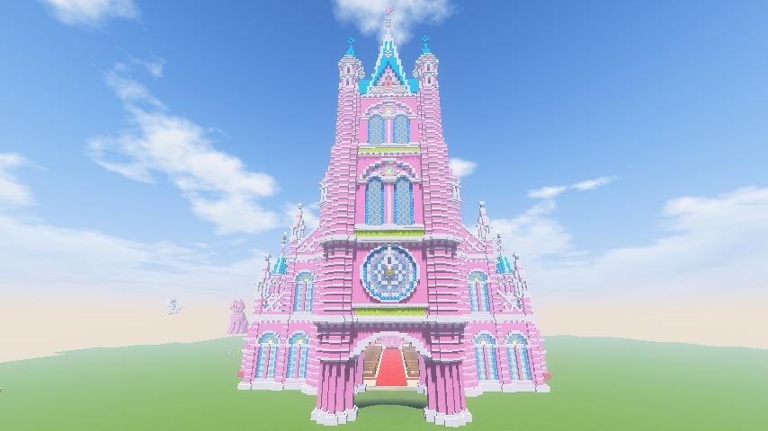 Minecrafterししゃもがマインクラフトでぷっこ村にタンディン教会を再現してみる14