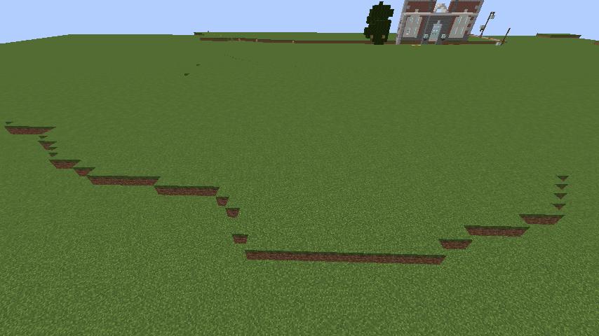 Minecrafterししゃもがマインクラフトでぷっこ村にキャットタワー型の新居を建築する7