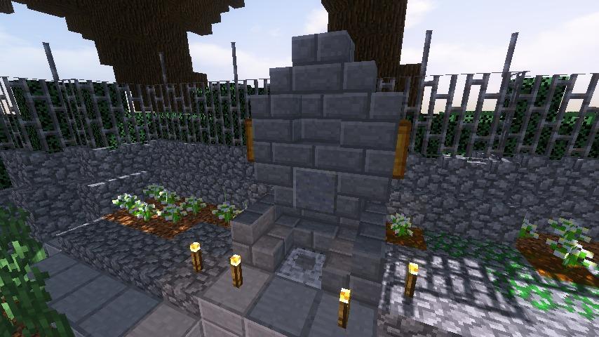Minecrafterししゃもがマインクラフトのぷっこ村で狩人の夢を発見する11