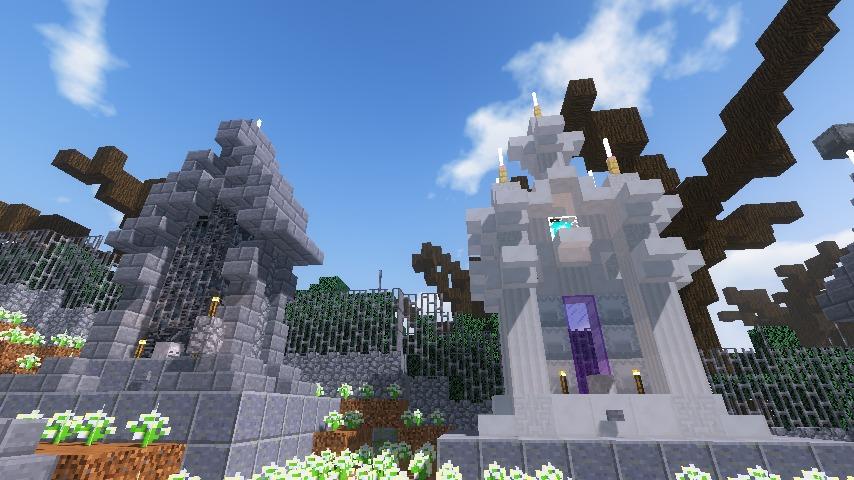 Minecrafterししゃもがマインクラフトのぷっこ村で狩人の夢を発見する10