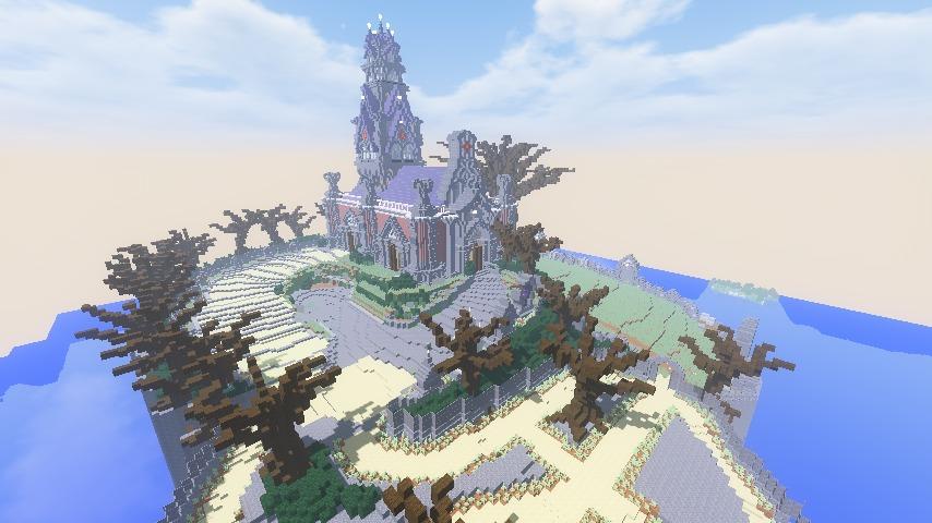 Minecrafterししゃもがマインクラフトでぷっこ村にかりうどの夢を作って拠点にする2