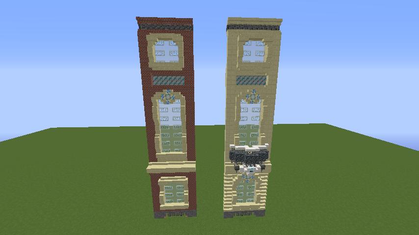 Minecrafterししゃもがマインクラフトでぷっこ村に大学の共通教育棟を作る1