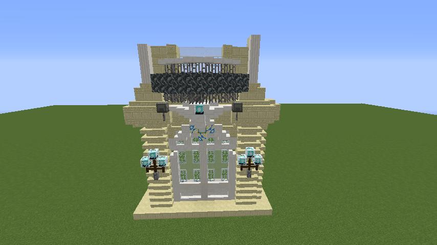 Minecrafterししゃもがマインクラフトでぷっこ村に大学の共通教育棟を作る2