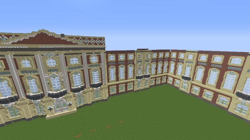 Minecrafterししゃもがマインクラフトでぷっこ村に大学の共通教育棟を作る5