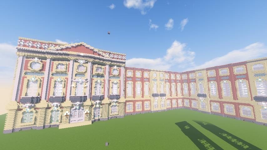 Minecrafterししゃもがマインクラフトでぷっこ村に大学の共通教育棟を作る6
