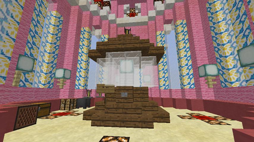 Minecrafterししゃもがマインクラフトでぷっこ村にオシャレな塔っぽいワープポイントを建築する7