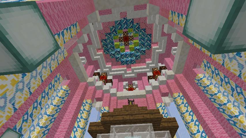 Minecrafterししゃもがマインクラフトでぷっこ村にオシャレな塔っぽいワープポイントを建築する8