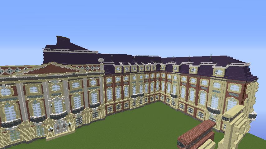 Minecrafterししゃもがマインクラフトでぷっこ村に大学の共通教育棟を作る8