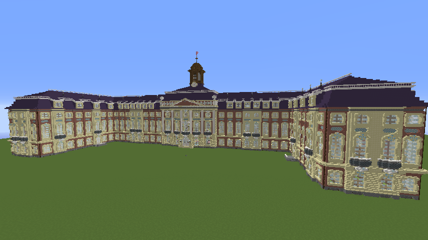Minecrafterししゃもがマインクラフトでぷっこ村に大学の共通教育棟を作る12