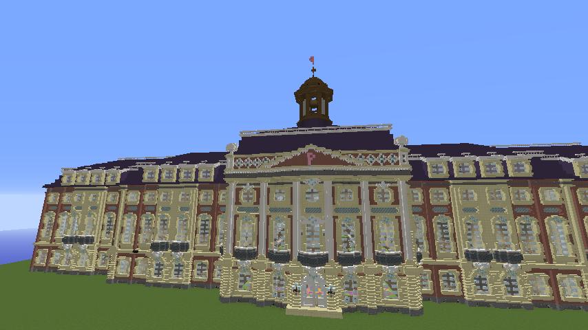 Minecrafterししゃもがマインクラフトでぷっこ村に大学の共通教育棟を作る13