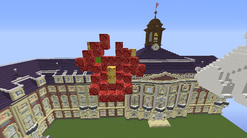 Minecrafterししゃもがマインクラフトでぷっこ村に大学の共通教育棟を作る17