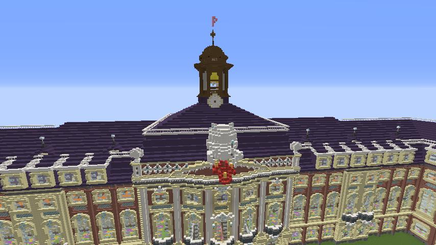 Minecrafterししゃもがマインクラフトでぷっこ村に大学の共通教育棟を作る20