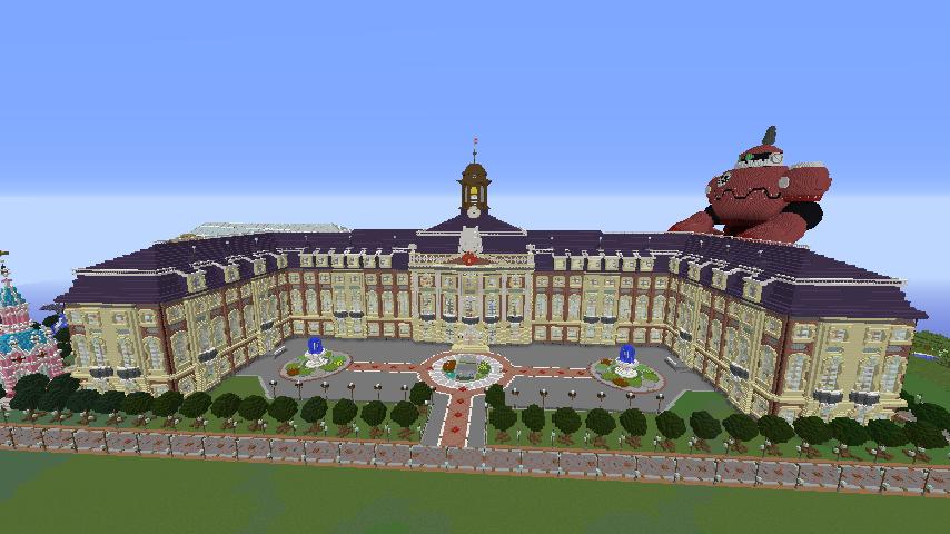 Minecrafterししゃもがマインクラフトでぷっこ村に大学を設立する7