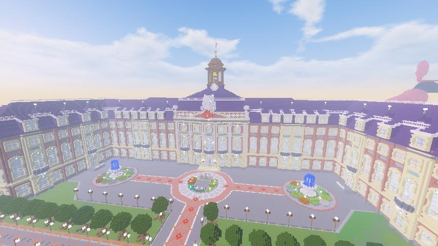 Minecrafterししゃもがマインクラフトでぷっこ村に大学を設立する20