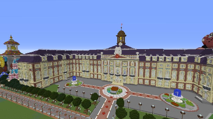 Minecrafterししゃもがマインクラフトでぷっこ村に大学を設立する10