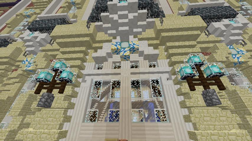 Minecrafterししゃもがマインクラフトでぷっこ村に大学を設立する12