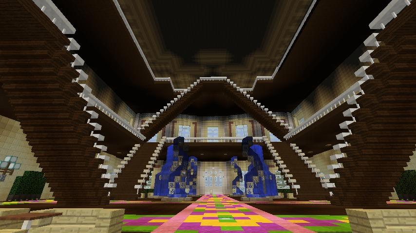 Minecrafterししゃもがマインクラフトでぷっこ村に大学を設立する13