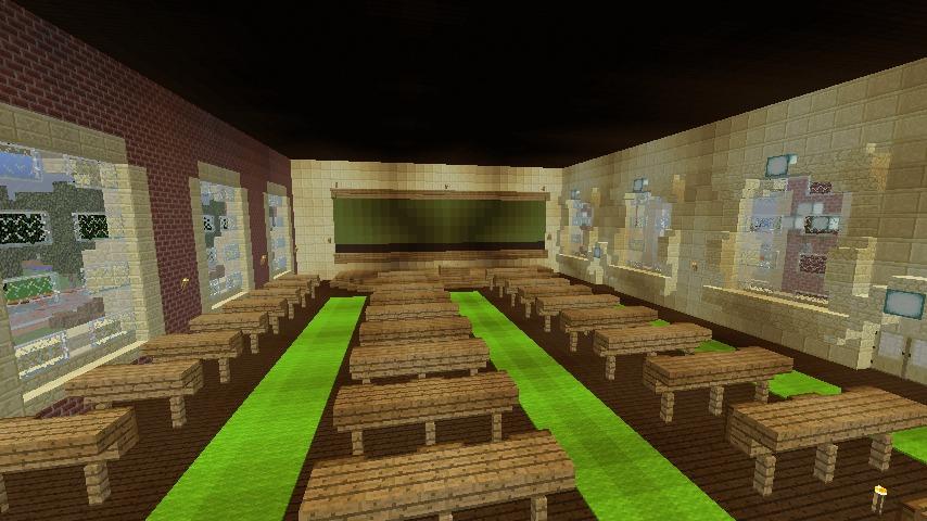 Minecrafterししゃもがマインクラフトでぷっこ村に大学を設立する15