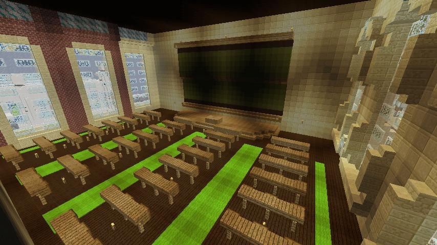Minecrafterししゃもがマインクラフトでぷっこ村に大学を設立する16