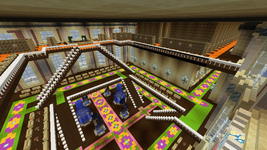 Minecrafterししゃもがマインクラフトでぷっこ村に大学を設立する14