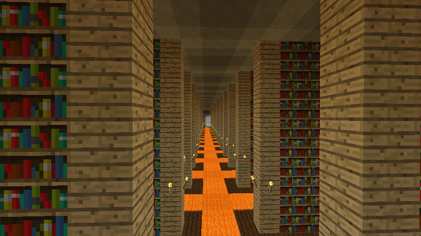 Minecrafterししゃもがマインクラフトでぷっこ村に大学を設立する19