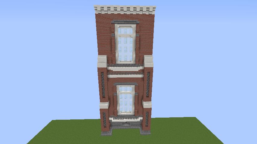 Minecrafterししゃもがマインクラフトでぷっこ村に東京国立近代美術館工芸館を再現建築する2