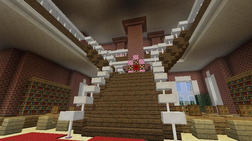 Minecrafterししゃもがマインクラフトでぷっこ村にレンガ造りの村役場を作る17