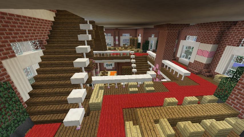 Minecrafterししゃもがマインクラフトでぷっこ村にレンガ造りの村役場を作る19