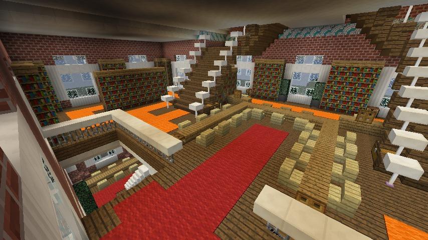 Minecrafterししゃもがマインクラフトでぷっこ村にレンガ造りの村役場を作る20
