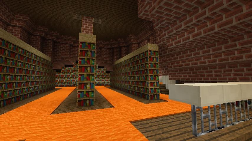 Minecrafterししゃもがマインクラフトでぷっこ村にレンガ造りの村役場を作る21