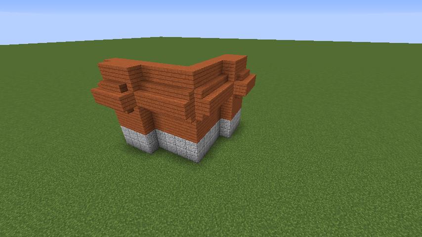 Minecrafterししゃもがマインクラフトでぷっこ村にロシア国立歴史博物館をモデルにしたぷっこ村長の別荘を建築する1