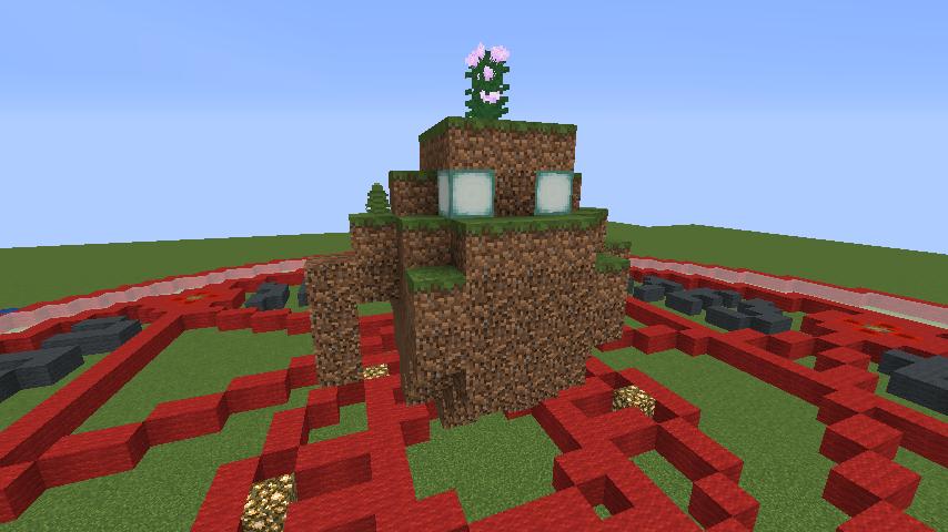 Minecrafterししゃもがマインクラフトでぷっこ村にいろんなゴーレムを召喚する2