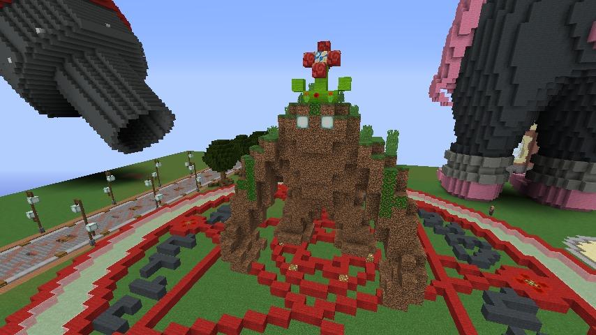 Minecrafterししゃもがマインクラフトでぷっこ村にいろんなゴーレムを召喚する5