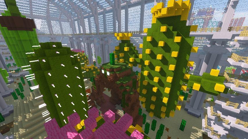 Minecrafterししゃもがマインクラフトでぷっこ村にいろんなゴーレムを召喚する8