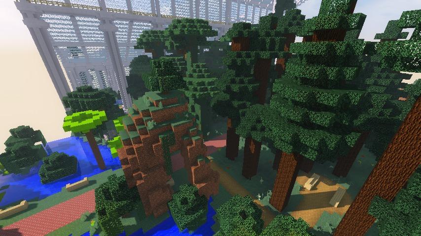 Minecrafterししゃもがマインクラフトでぷっこ村にいろんなゴーレムを召喚する9