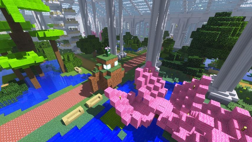 Minecrafterししゃもがマインクラフトでぷっこ村にいろんなゴーレムを召喚する11