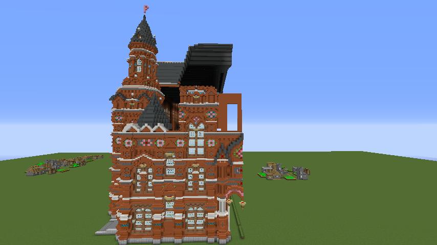 Minecrafterししゃもがマインクラフトでぷっこ村に別荘を作る1