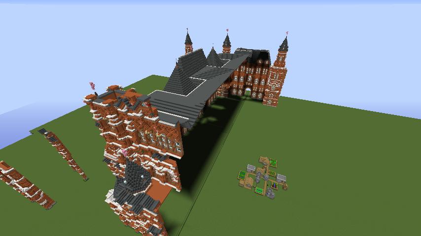 Minecrafterししゃもがマインクラフトでぷっこ村に別荘を作る4