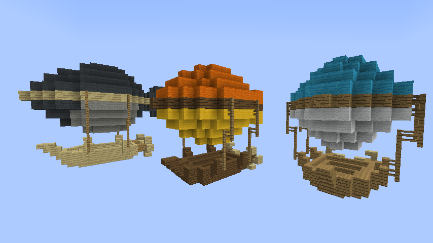 簡単にできるファイナルファンタジーに出る風の飛行船の作り方24