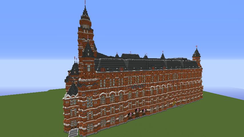 Minecrafterししゃもがマインクラフトでぷっこ村に別荘を作る7