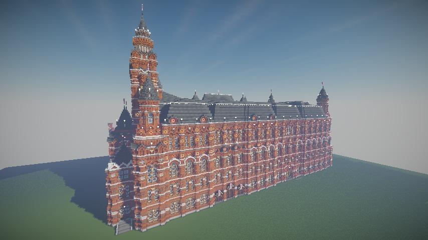 Minecrafterししゃもがマインクラフトでぷっこ村に別荘を作る8