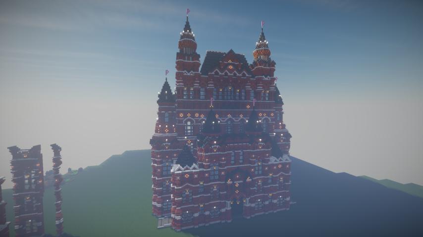 Minecrafterししゃもがマインクラフトでぷっこ村に別荘を作る6