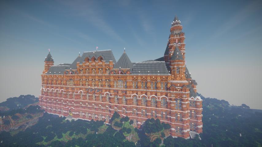 Minecrafterししゃもがマインクラフトでぷっこ村に別荘を作る10