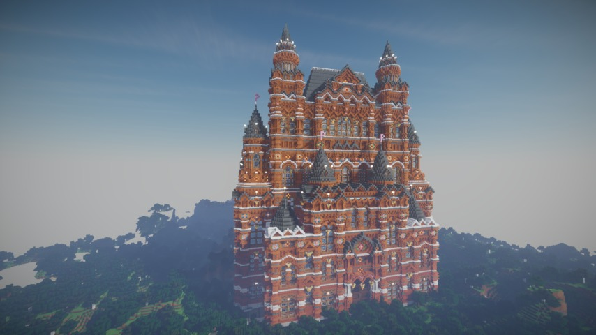 Minecrafterししゃもがマインクラフトでぷっこ村に別荘を作る9