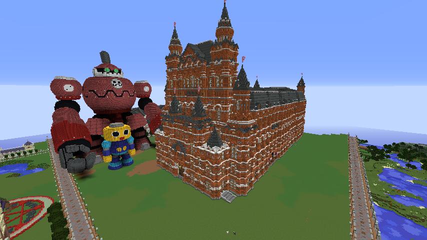 Minecrafterししゃもがマインクラフトでぷっこ村に別荘を作る13