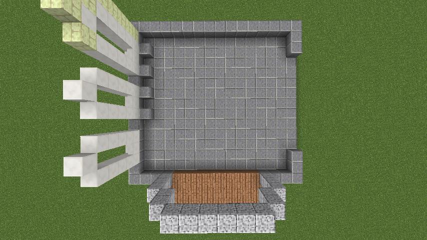 Minecrafterししゃもがマインクラフトでぷっこ村にポークフランク工場を建築する2