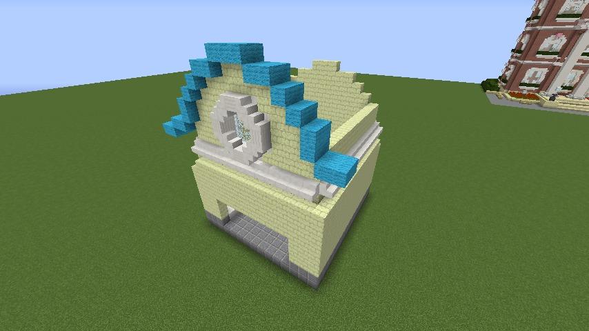 Minecrafterししゃもがマインクラフトでぷっこ村にポークフランク工場を建築する3