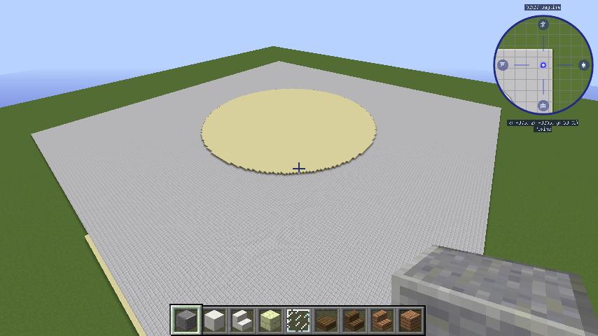 Minecrafterししゃもがマインクラフトで建築依頼を受けたビギナーズホールを建築する1