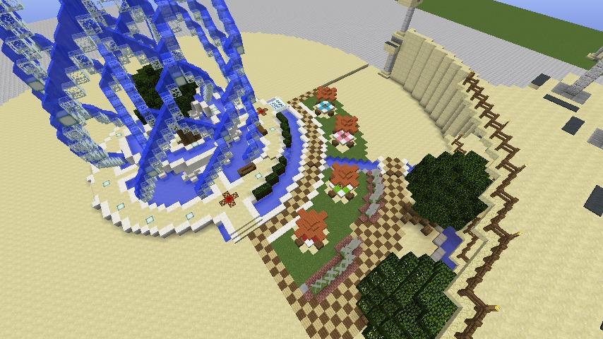 Minecrafterししゃもがマインクラフトで建築依頼を受けたビギナーズホールを建築する5