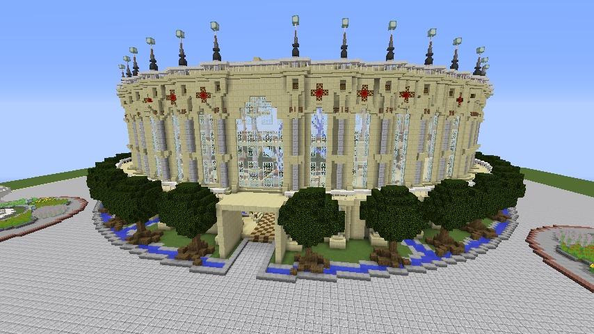 Minecrafterししゃもがマインクラフトで建築依頼を受けたビギナーズホールを建築する9